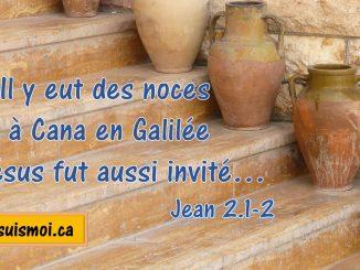 Jean 2.1-2