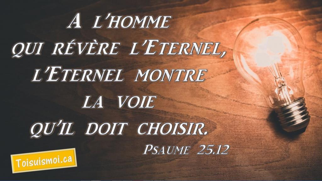 Psaume 25.12