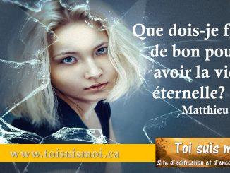 Matthieu 19.16