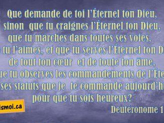 Deutéronome 10.12-13