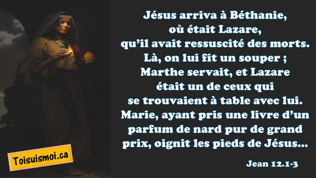 Jean 12.1-3