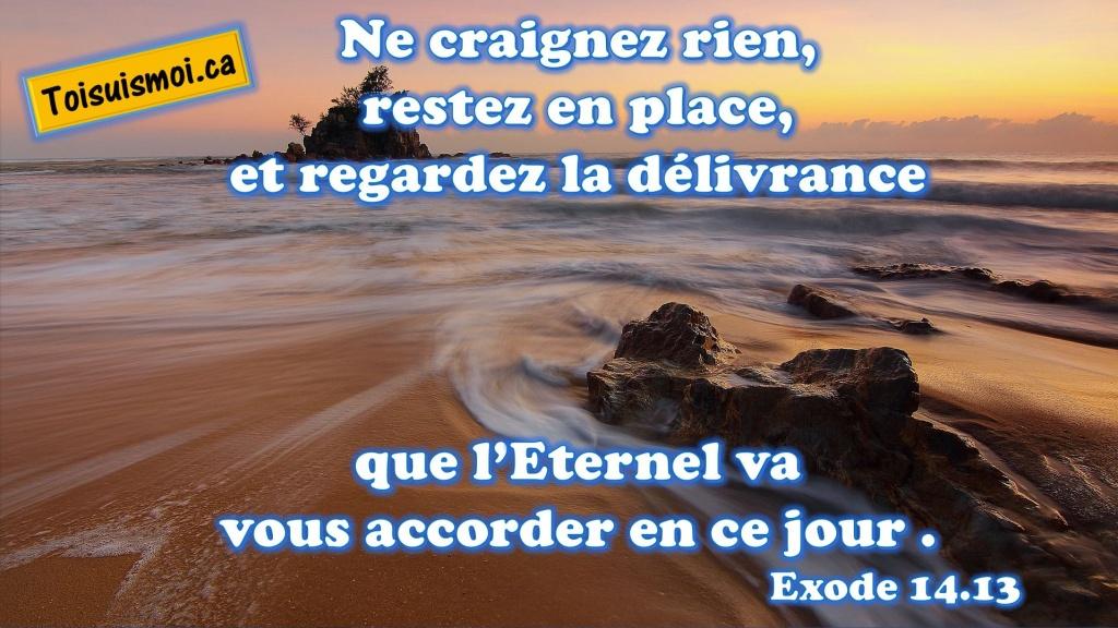 Exode 14.13