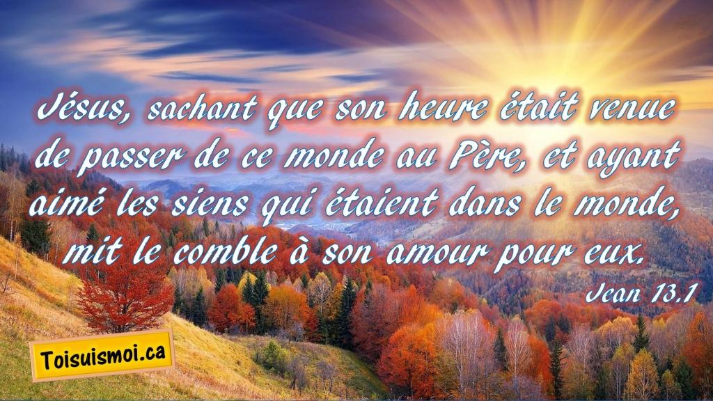 Jean 13.1