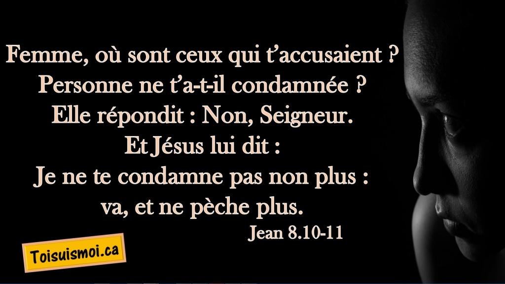 Jean 8.10-11