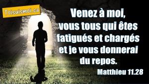 Matthieu 11.28