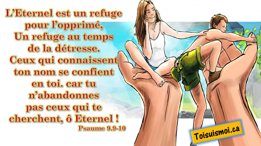 Psaume 9.9-10